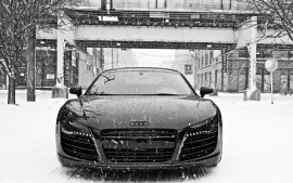 Audi R8 in Snow Wallpapers | HD Wallpapers