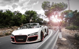 2014 Audi R8 V10 Spyder Regula Tuning Wallpapers | HD Wallpapers