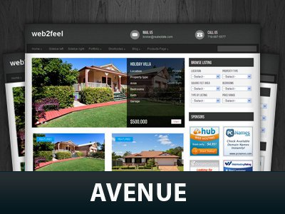 Avenue  WordPress Themes