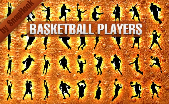 Basketball Players Silhouettes – All-Silhouettes