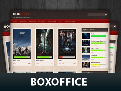 Boxoffice  WordPress Themes