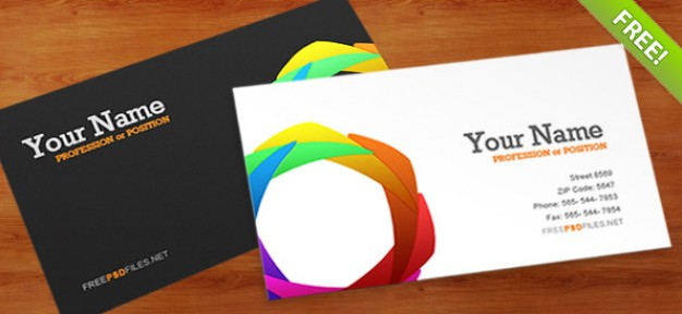 Business Card PSD Template  PSD file | Free Download