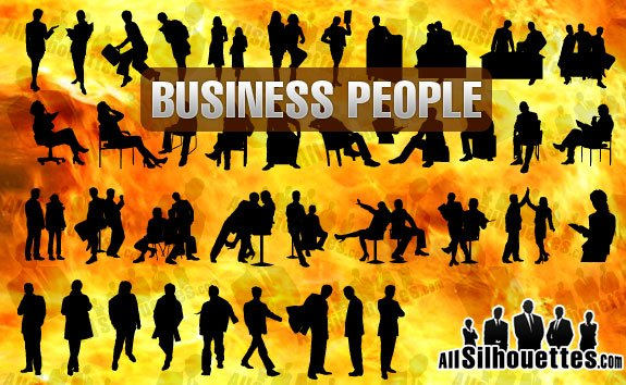 Business People – All-Silhouettes
