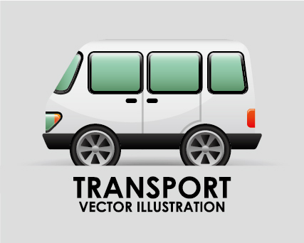 Collection of transportation vehicle vector material 08