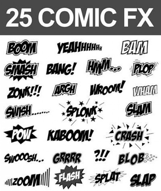 Comic sound fx  Vector | Free Download
