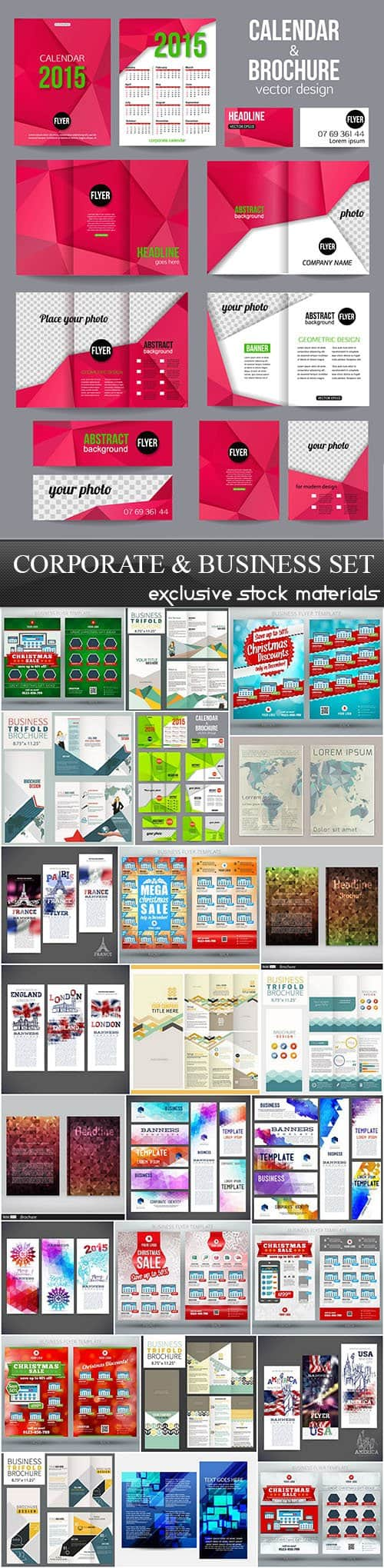 Corporate & Business Set, 25xEPS