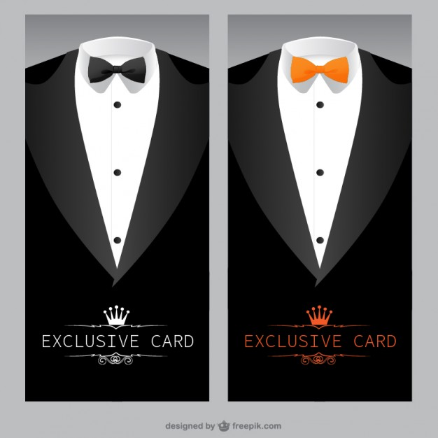 Exclusive card template  Vector | Free Download