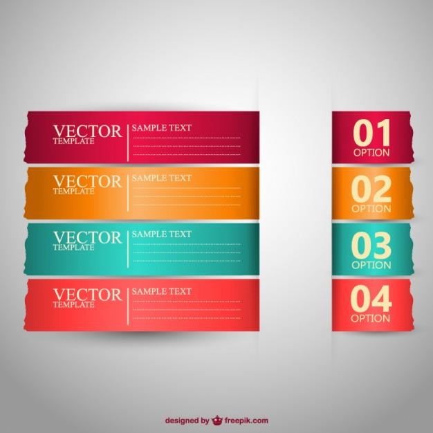 Free banners vector design  Vector   Free Download