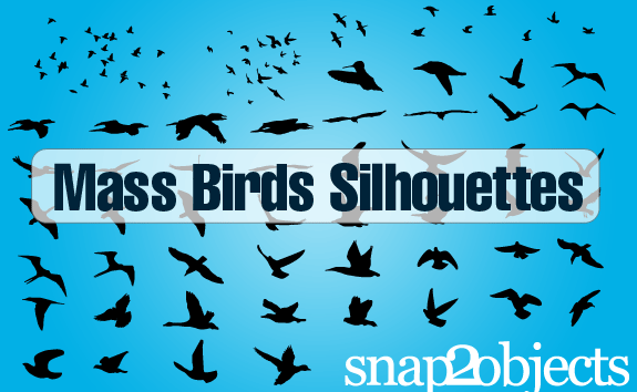 Free Vector Birds – All-Silhouettes
