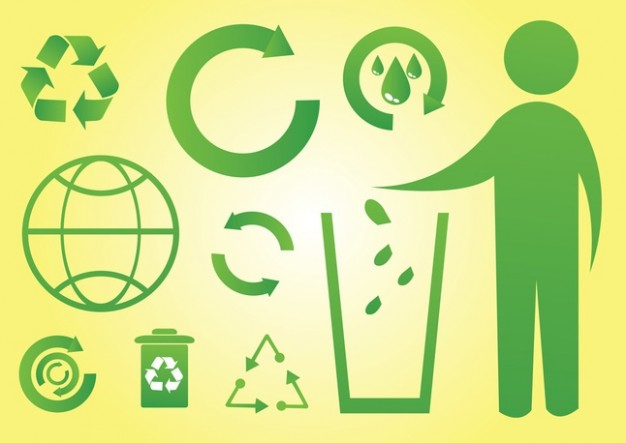 Green World Icons  Vector   Free Download