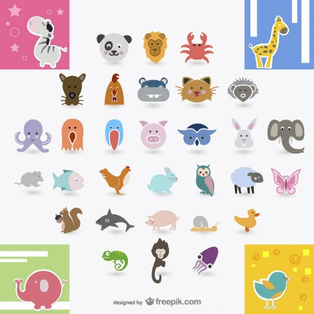 icon daquan   animals vector material  Vector | Free Download