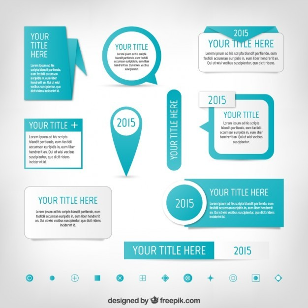 Infographic elements  Vector | Free Download