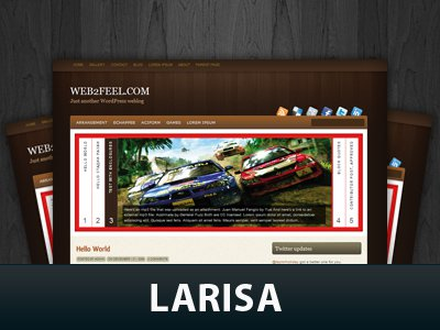 Larisa WordPress Themes