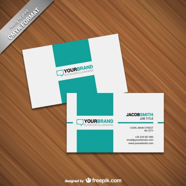 Minimalist card template  Vector | Free Download