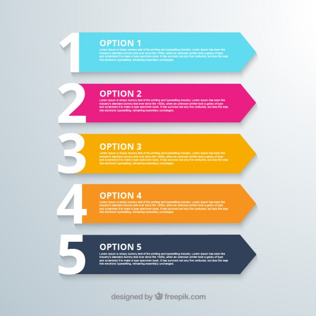 Options banners  Vector | Free Download
