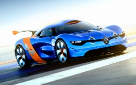 Renault Alpine Concept Car Wallpapers | HD Wallpapers