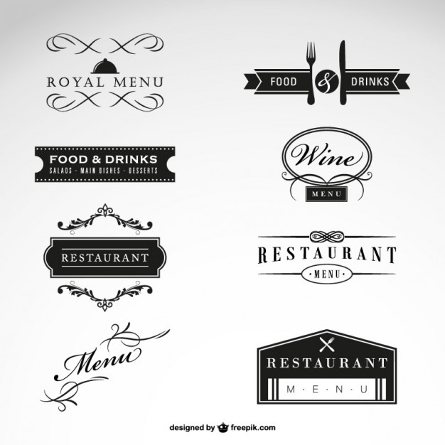 Restaurant vector free collection   Vector | Free Download