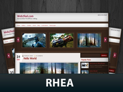 Rhea WordPress Themes