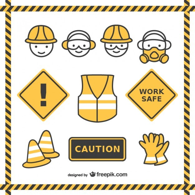 Safety drawings pack  Vector | Free Download