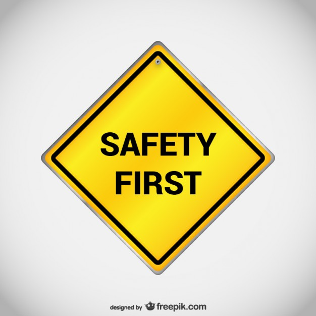 Safety first sign vector  Vector   Free Download