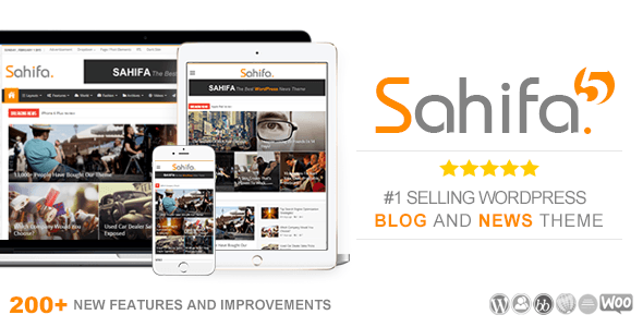 Sahifa – Responsive WordPress News / Magazine / Newspaper Theme – WordPress