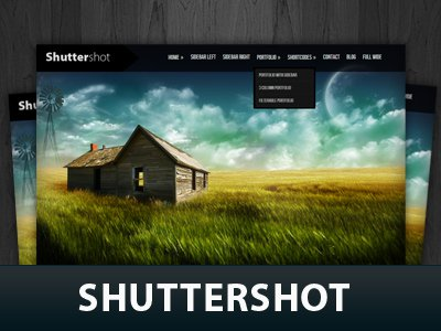 Shuttershot  WordPress Themes