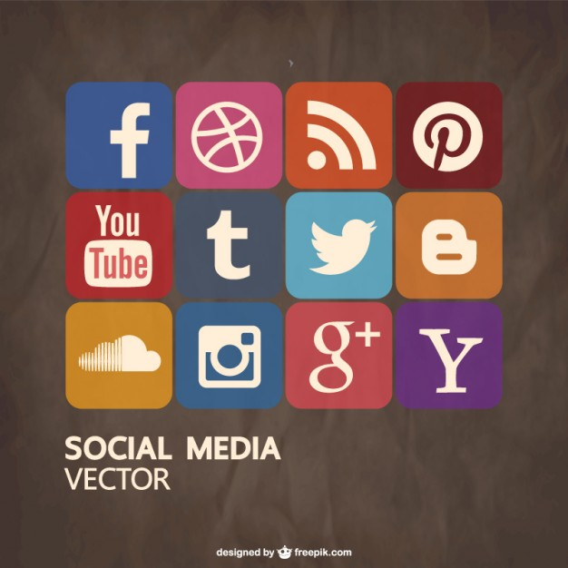 Social media free vector   Vector | Free Download
