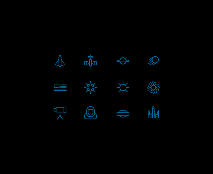 Space Icons #2 | IconStore