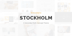 Stockholm – A Genuinely Multi-Concept Theme – WordPress