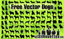 Vector Dogs Silhouettes – All-Silhouettes