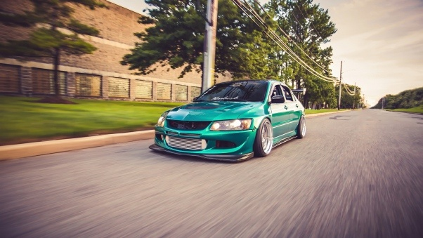 Wallpaper Mitsubishi Evo 8
