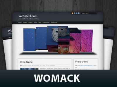 Womack  WordPress Themes