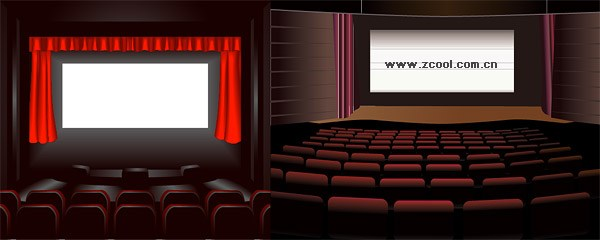 2 Cinema Vector material