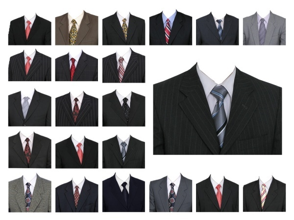 22 suits template (with half-length passport)