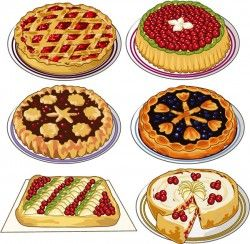 Delicious pizza vector pictures