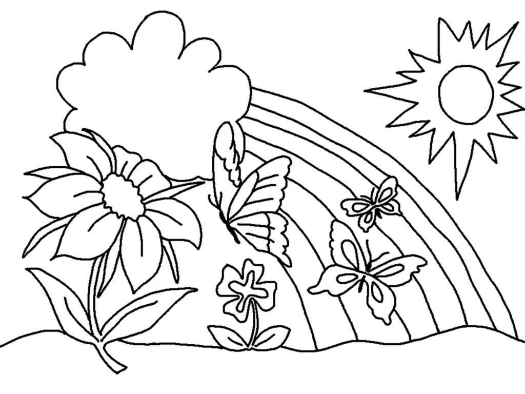 free printable flower coloring pages for kids u2013 best colorin
