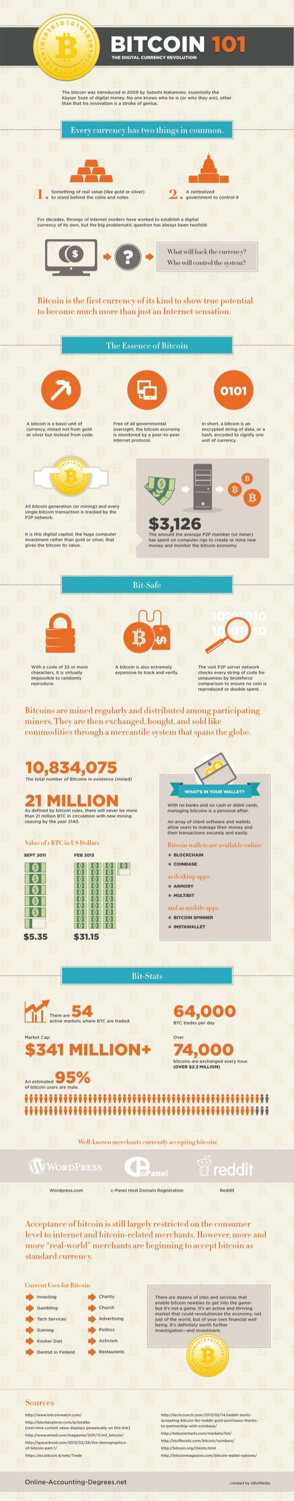 How Bitcoin Works [Infographics]