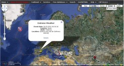 Interactive Map – World Emergency and Disaster Alert Map