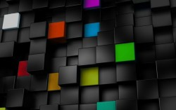 Colorful Cubes wallpapers