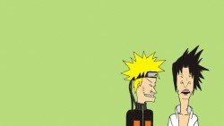 Naruto, Beavis and butt-head, Minimalism laptop 1366×768 HD Background