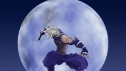 Naruto, Hatake kakashi, Guy, Arms, Moon, Jump laptop 1366×768 HD Background