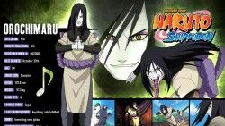 Naruto, Orochimaru, Guy, Sign, Tongue, Snake laptop 1366×768 HD Background