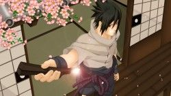 Naruto, Uchiha sasuke, Naruto shippuden, Door, Sakura, Weapons, Courage, Guy laptop 1366×76 ...