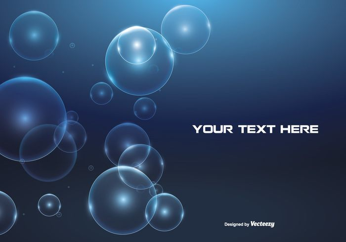 Abstract Bubble Background Illustration