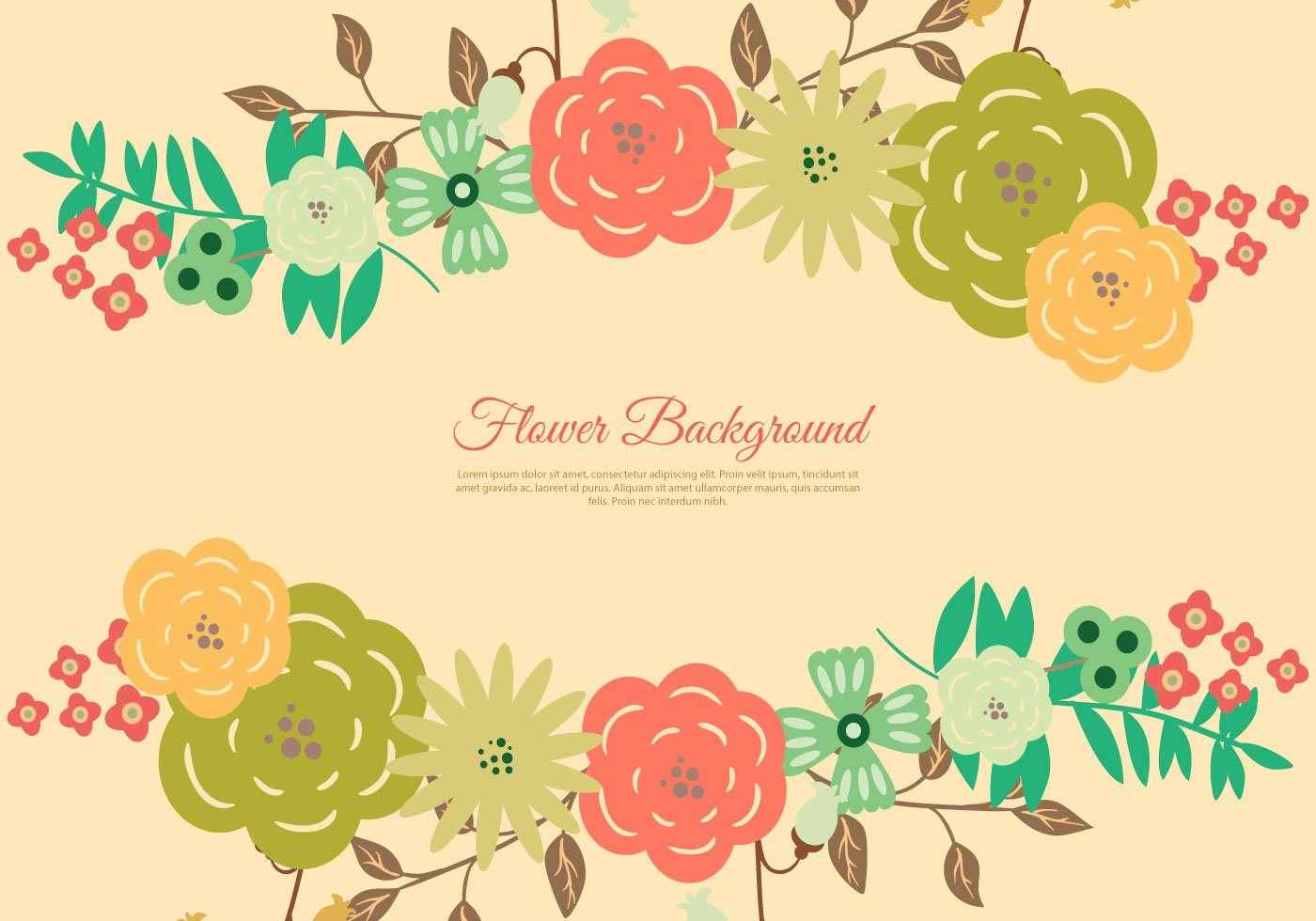 beautiful floral wreath background | epin – free graphic, clipart
