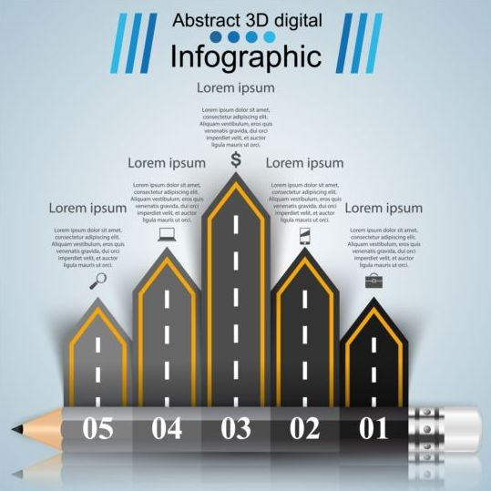 Business Infographic creative design 4510