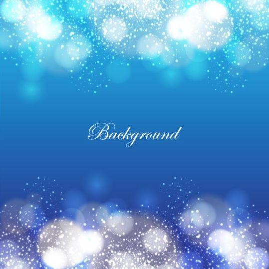Colored halation with bokeh background design vector 05