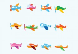 Free Fun Avion Vector
