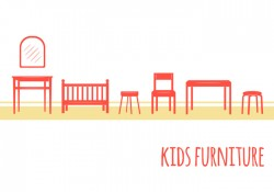 Kids Furniture Icons