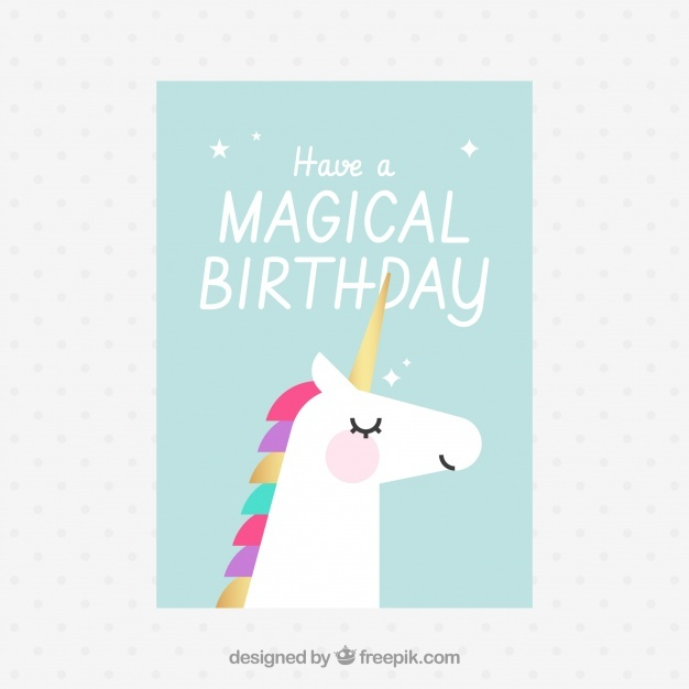 Invitation for a magical birthday